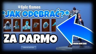 JAK ODEBRAC 3 DARMOWE SKINY W FORTNITE *NEVER CLICKBAIT* | FORTNITE BATTLE ROYALE