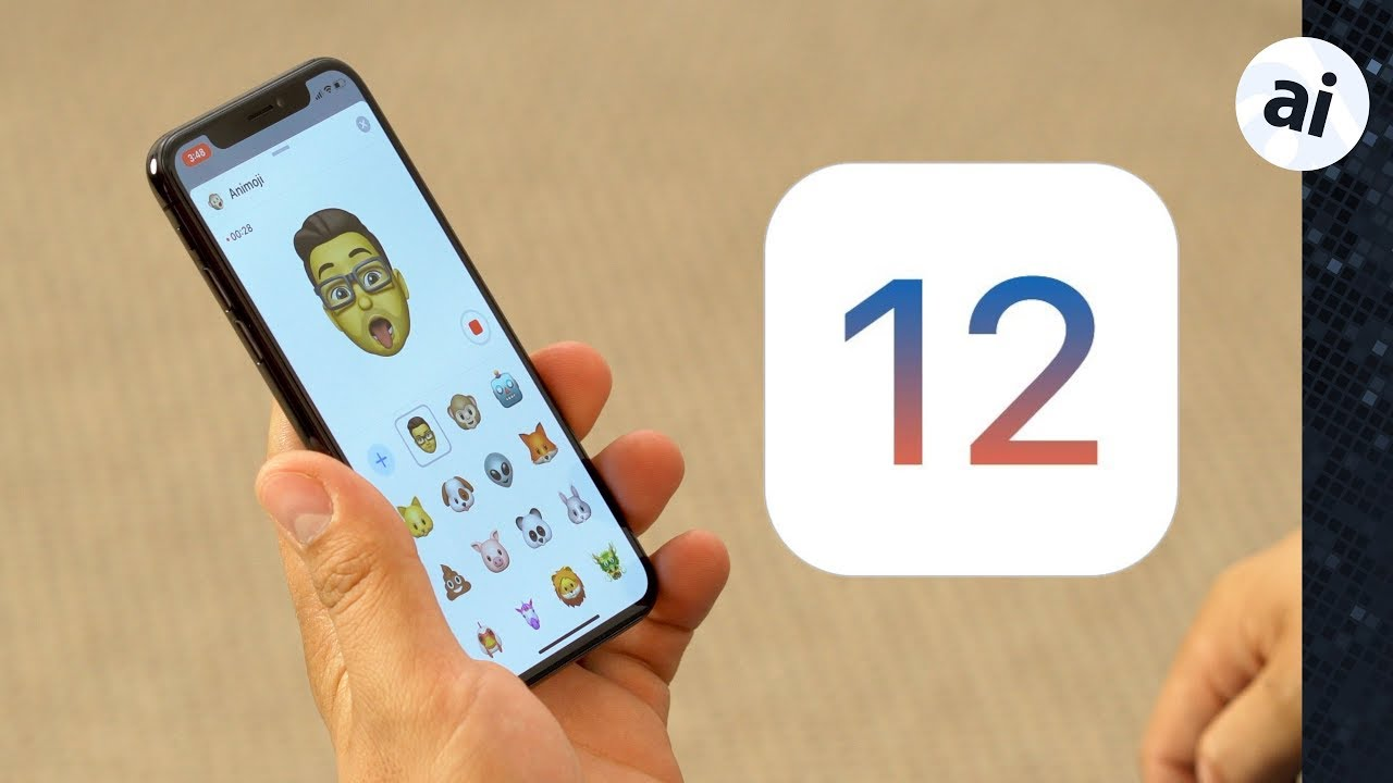 Check out all the new features in Apple's first iOS 12 beta