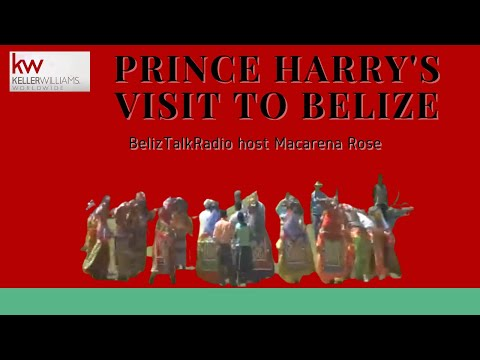 Prince Harry's Visit to Belize - Belize Telemedia Limited.rv Video of Xunantunich
