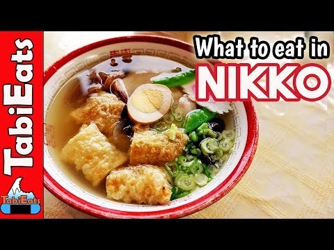 STREET FOOD JAPAN & Other Local Foods (What to Eat in Nikko)