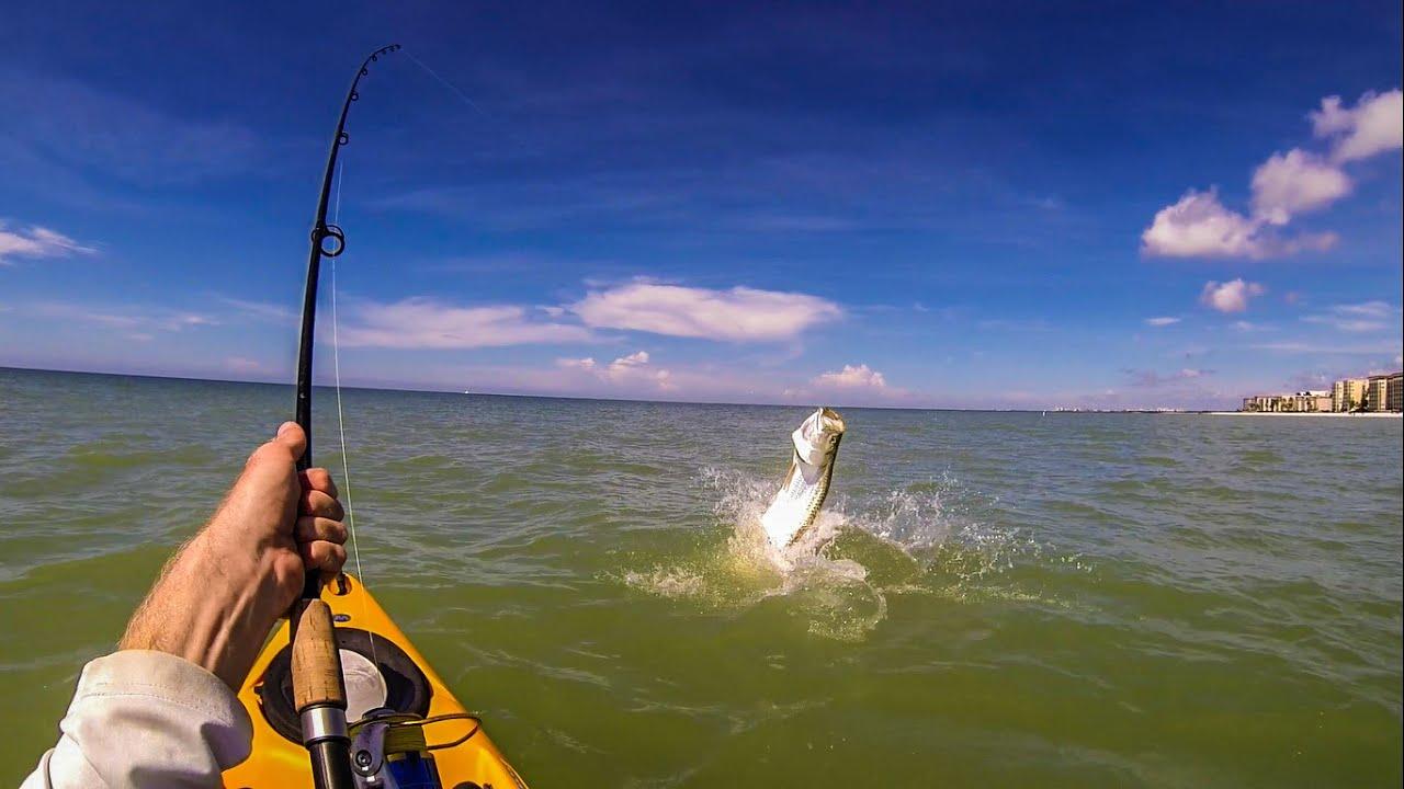 Kayak Tarpon Fishing Naples Florida YouTube - Florida naples