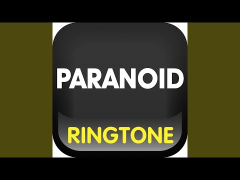 Paranoid Ringtone (Cover)