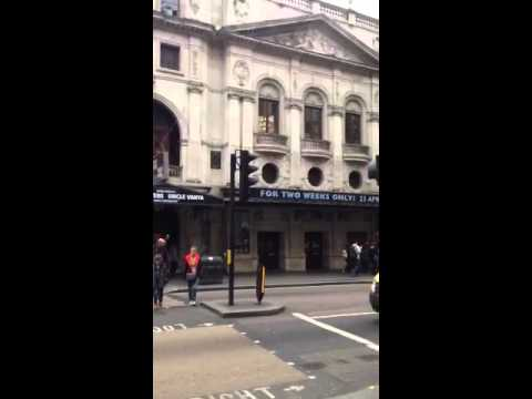 Wyndham's Theatre(Shaftesbury Avenue)London.