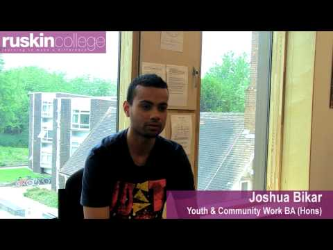 Youth and Community Work at Ruskin College Oxford