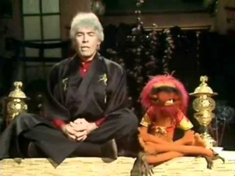 Muppets' Drummer Animal Learns To Meditate -- LOL!