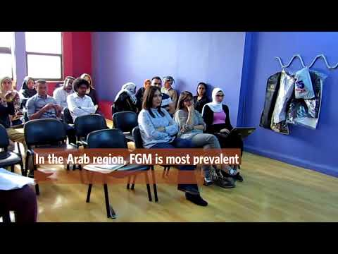 UNFPA uses theater-based techniques to change social attitudes towards FGM in the Arab region
