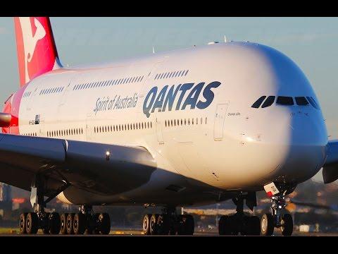 Qantas A380 First Class QF9 Dubai to London