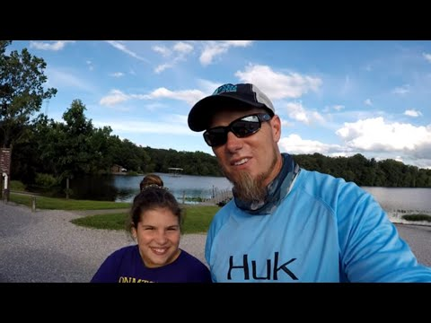 Fishing Perry County Lake With My Daughter