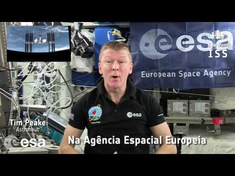[Portuguese] Tim Peake invites you to join the Citizens' Debate on Space for Europe