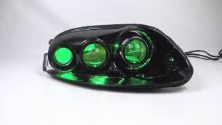Subaru WRX Spec D headlight Conversion - BX