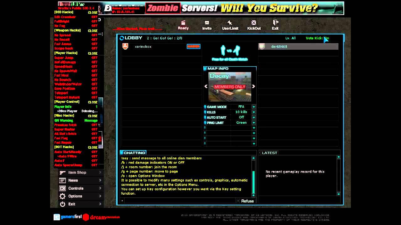 sirosix warrock hack