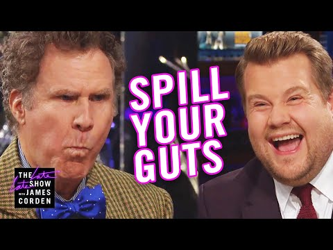 Phill Kross - Spill Your Guts or Fill Your Guts w/ Will Ferrell & James Corden!