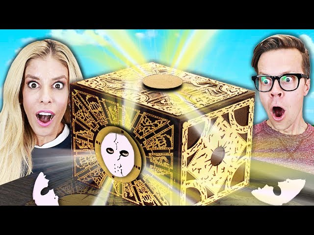 Unboxing Game Master Puzzle Box for Face Reveal! (New Clues to GM Mask)