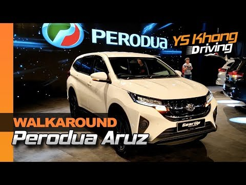 Perodua Aruz 1.5X & 1.5AV Launched [Walkaround Review] - RM72,900-RM77,900 | YS Khong Driving