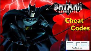 Batman: Vengeance (PS2) CHEAT CODES