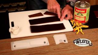 How to Make a Leather Wallet and Card Holder