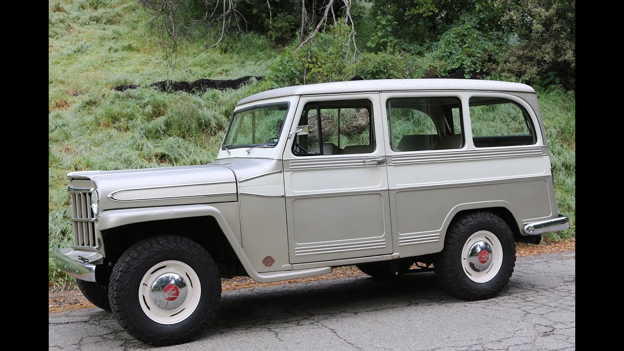 1960 Willys Overland Wagon ICON Derelict