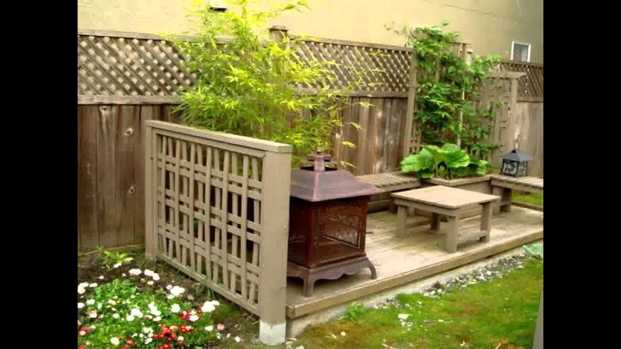 Small home garden decoration ideas youtube for Small garden decoration