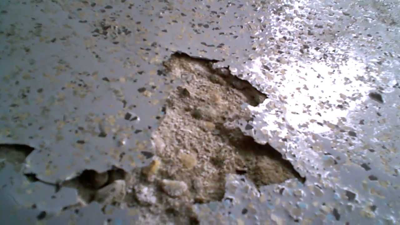 The Epoxy Floor Screw up by Epoxi Floor Coating  YouTube
