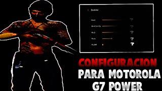 CONFIGURACIÓN PARA MOTOROLA G7 POWER