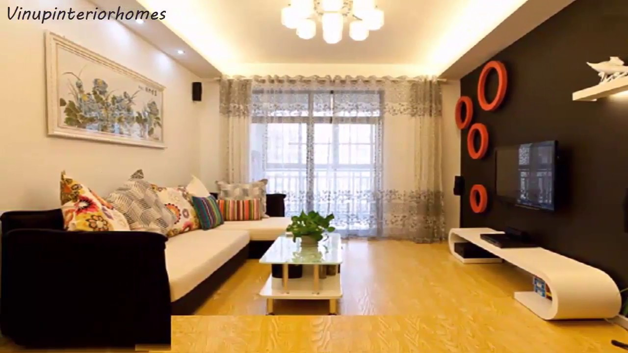 Best Apartment Living Room Interior Design - Interior ceiling Ideas - YouTube