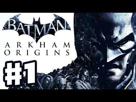 Batman Arkham Origins - Gameplay Walkthrough Part 1 - Blackg