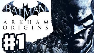 Batman Arkham Origins - Gameplay Walkthrough Part 1 - Blackgate and Killer Croc! (PC, Xbox 360, PS3)