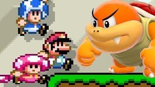 Super Mario Maker 2 🔧 Multiplayer Versus Rank S Gameplay