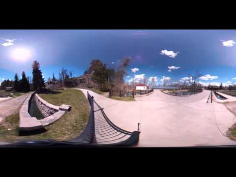 360 Tour Of The DC Booth Fish Hatchery In Spearfish, SD