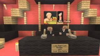 Minecraft Xbox 360: The Hoagie and Mafia Show   Staring Bieber