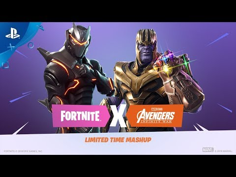 Fortnite - Infinity Gauntlet Limited Time Mashup | PS4