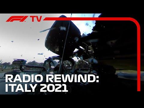 Hamilton and Verstappen Clash At Monza | RADIO REWIND! | 2021 Italian Grand Prix