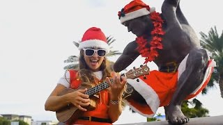 Surfing Santas Music Video on Florida's Space Coast