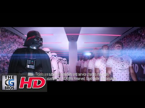 "CGI & VFX Spots : ""Star Wars Rugby Sevens"" - by Outpost VFX"