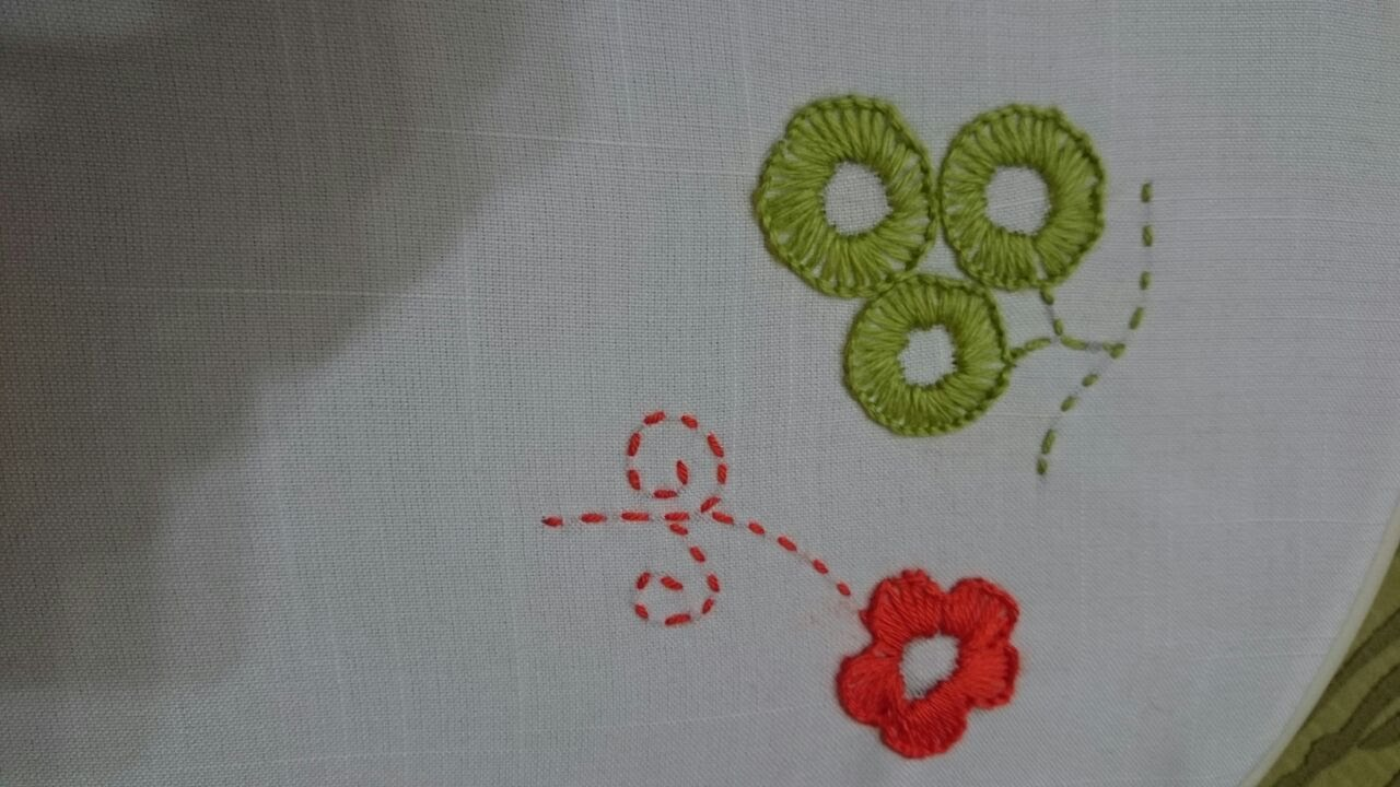 How To Diy Hand Embroidery Stitches Buttonhole Stitch Tutorial