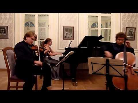 Й. Брамс. Трио до минор, ор. 101. Allegro energico