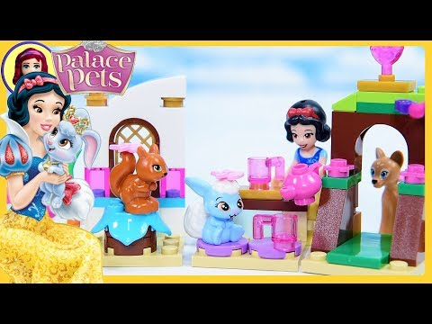 Berry's Kitchen Teaparty Lego Disney Princess Palace Pets Review & Build Silly Play with Kids Toys