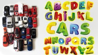 Learn Alphabet with Cars. Education video for kids.