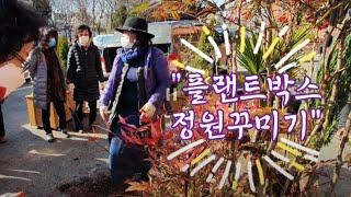 플랜트박스 정원꾸미기 한평정원 만들기