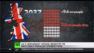 Positive Influx: Tax-paying Immigrants in UK offer more than population growth