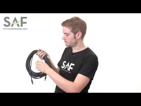 How To Wrap A BNC Video Cable or XLR Audio Cable