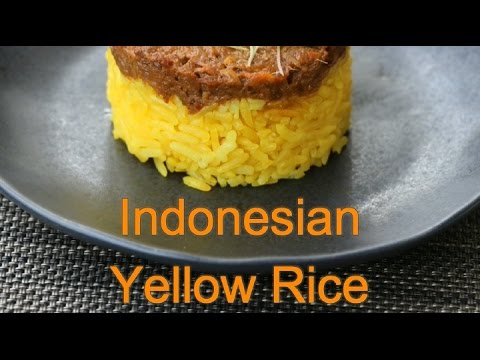How to cook Indonesian Yellow Tumeric Rice
