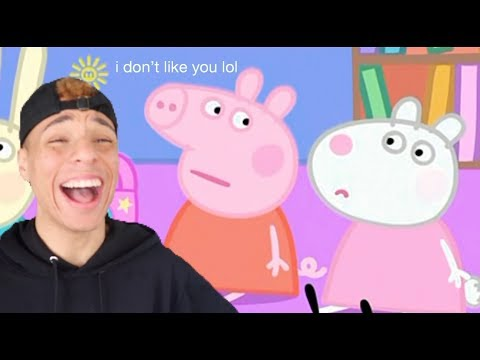 i edited a peppa pig episode cause i got bored