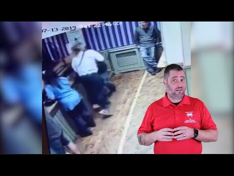 Female Aggressor Causes Scotland Man To Bleed