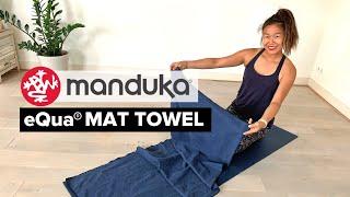 Manduka eQua Yoga Mat Towel Review   Why You Need a Yoga Mat Towel