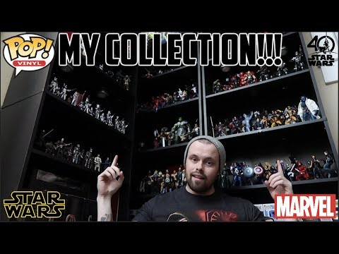 MY COLLECTION TOUR  MARVEL LEGENDS, STAR WARS BLACK SERIES, WWE ELITES, FUNKO POPS AND MORE!!
