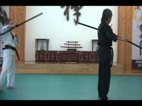 Weapon Training Using Staff/Stick