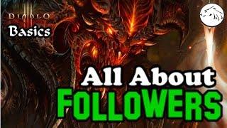 Diablo 3 Basics - Choosing and Gearing your Follower in Diablo 3