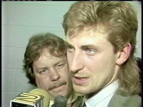 Sabres vs Oilers 1987