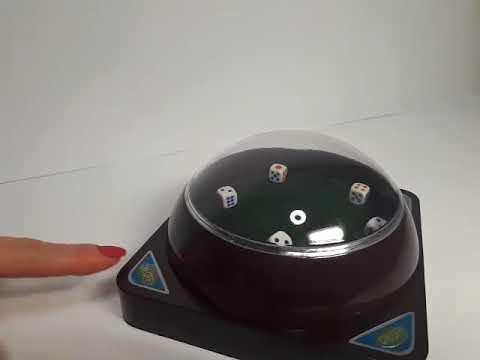 Игра в покер с автоматическим бросанием игральных костей